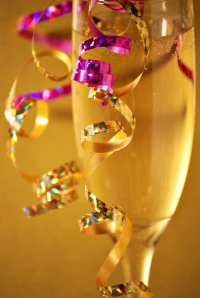 Shutterstock Celebration with Champagne and Confetti