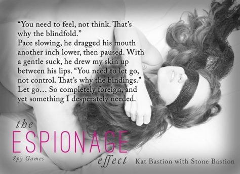 The Espionage Effect - The Blindfold Pic Quote