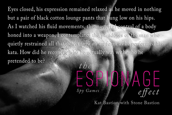 The Espionage Effect - Sculpted Back Teaser Pic