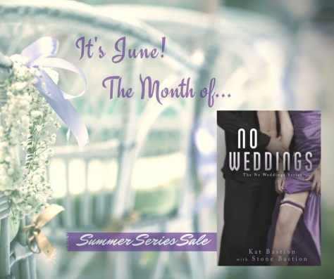 No Weddings Series page on Amazon