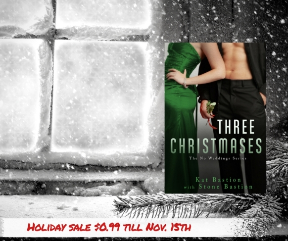 Three Christmases Holiday Promo Banner