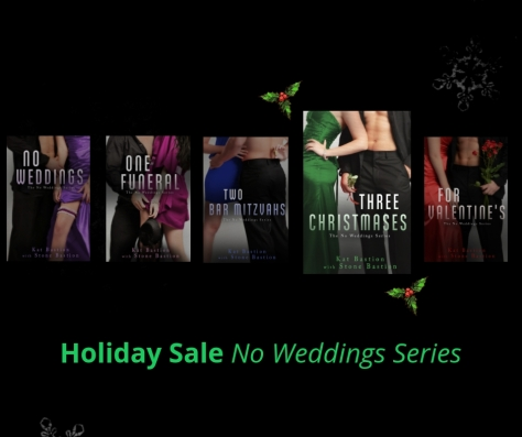 No Weddings Series Holiday Sale Book Line-up