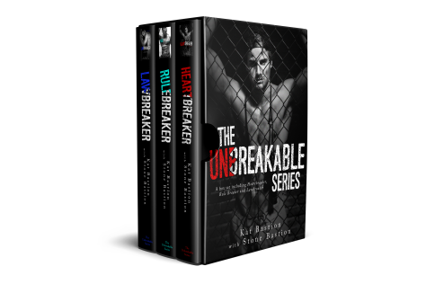 Unbreakable Series Box Set 3D Cover