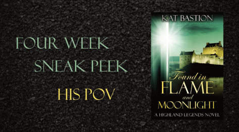 Four Week Sneak Peek Banner for Found in Flame and Moonlight